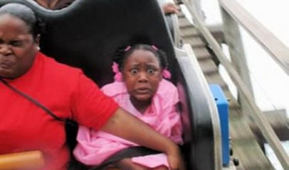 Funniest Roller Coaster Photos